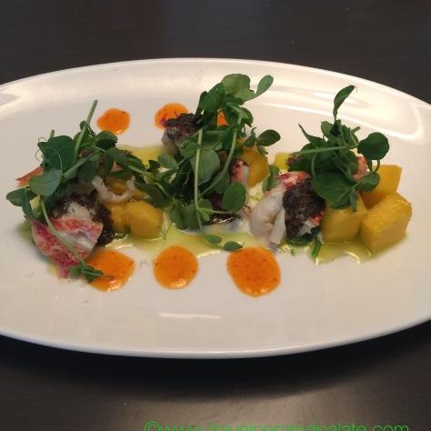 Lobster & Mango Salad, Sea Salt, St. Petersburg