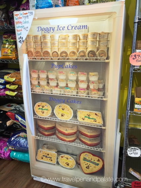 Piglet's Pantry line of doggy ice cream & decorated birthday cakes