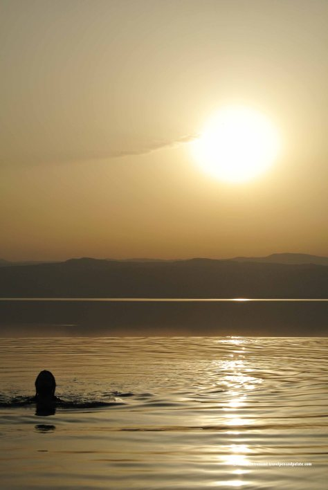 Dead Sea sunset from the Kempinski Ishtar Hotel, Jordan