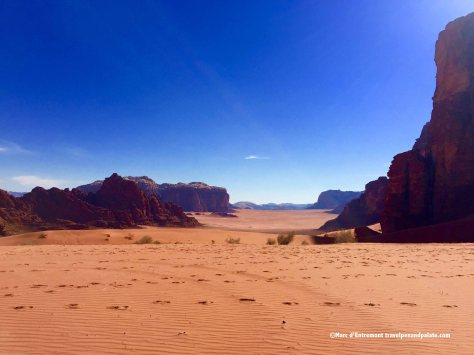 The Wadi Rum, Jordan