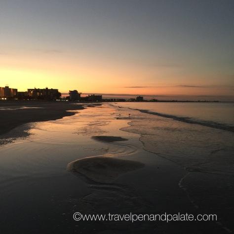 sunrise on St. Pete Beach, FL