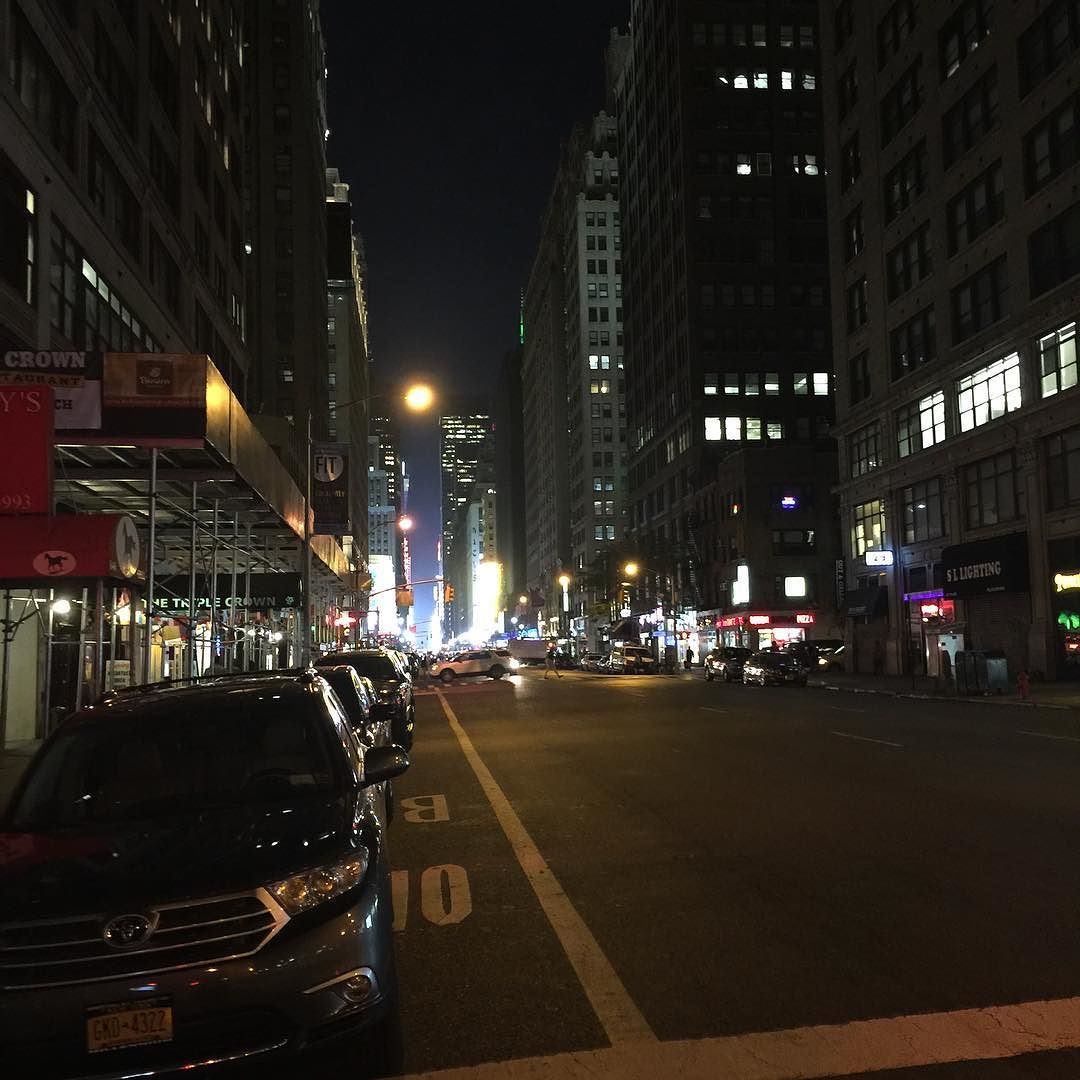 Mooning Over New Missoni: In The Street With A Full Moon Over New York
