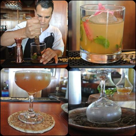 craft cocktails at Hotel Belmar, Monteverde, Costa Rica