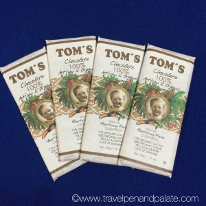 Tom's organic chocolate, Cuna del Angel