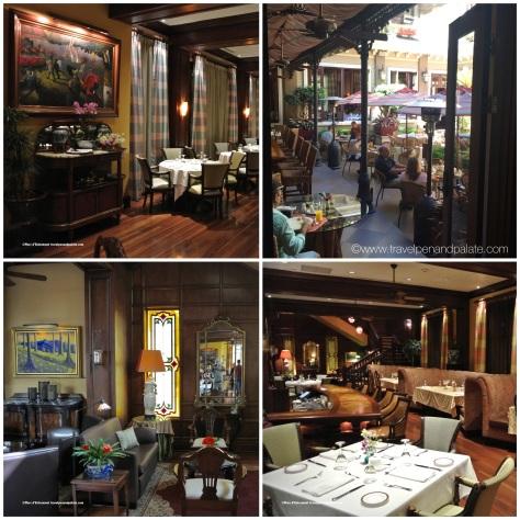 Grano de Oro restaurant & dining courtyard