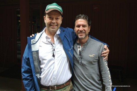Giuliano Salazar Gigli (left) & Mauricio Aymerich (right) director Small Distinctive Hotels