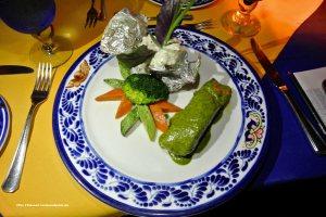 Fillet of snook in basil sauce
