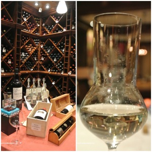 Grano de Oro wine celler & grappa in a dedicated glass
