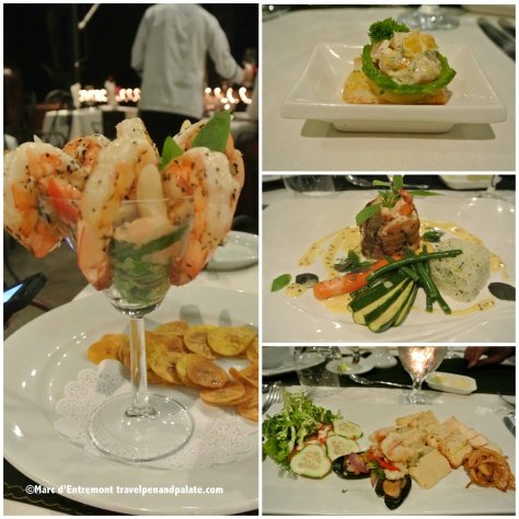 Dinner at Anfiteatro Bar and Restaurant , Villa Caletas