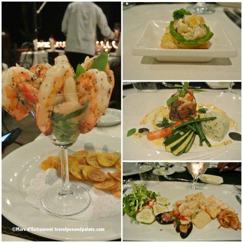 Dinner at Anfiteatro Bar and Restaurant , Villa Caletas