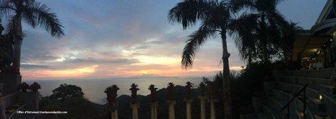 Sunset from Villa Caletas ampitheater