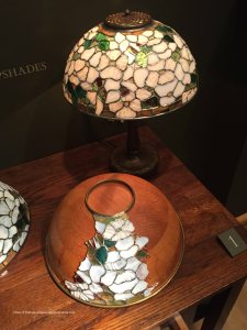 How Tiffany Studios assembled a lamp shade, Morse Museum