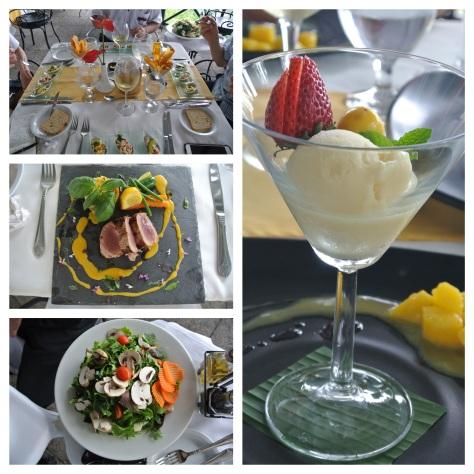 Lunch at Anfiteatro Bar and Restaurant, Villa Caletas