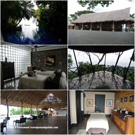Palapa & Serenity Spa, Villa Caletas
