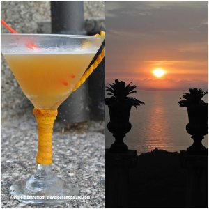 Sunset cocktail at Villa Caletas