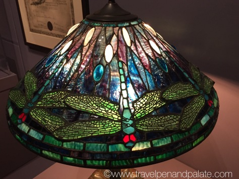 Dragon Fly lamp shade, Louis Comfort Tiffany at the Morse Museum, Winter Park, FL