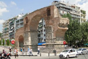 triumphal arch of the Emperor Galarius