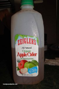 pure apple cider