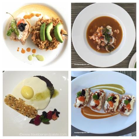 exquisite dishes & presentations