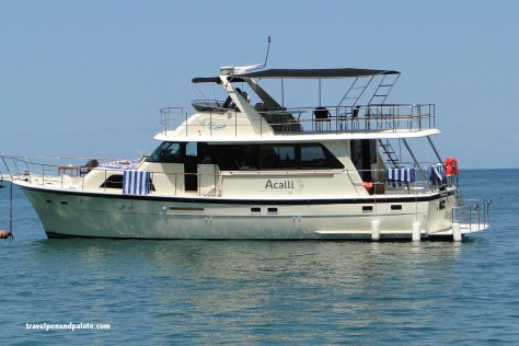 The yacht Achlli