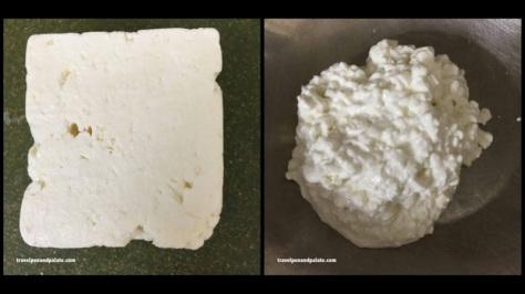 Feta & cottage cheeses