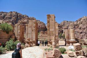 Roman era temple, Petra, Jordan