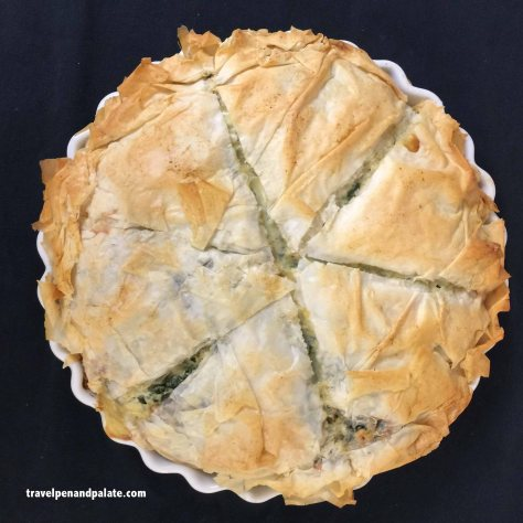 Chef Marc d'Entremont's Greek Spanakopita