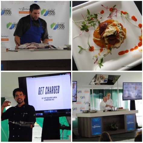 Chef demos Grand Tasting from the 2015 festival