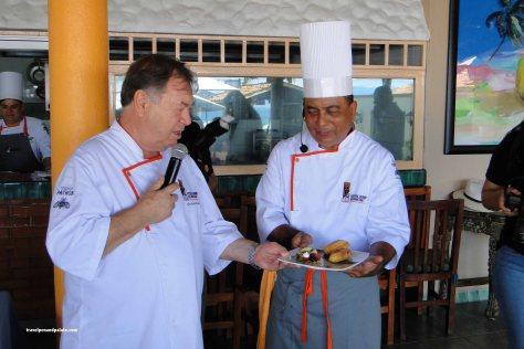 Chef Heinz Reize & Chef Luis Noriega