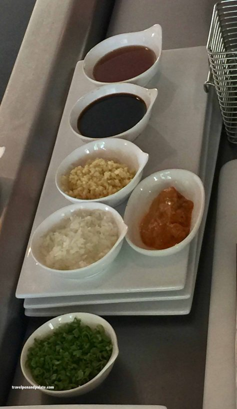 ingredients for Wagyu Tataki