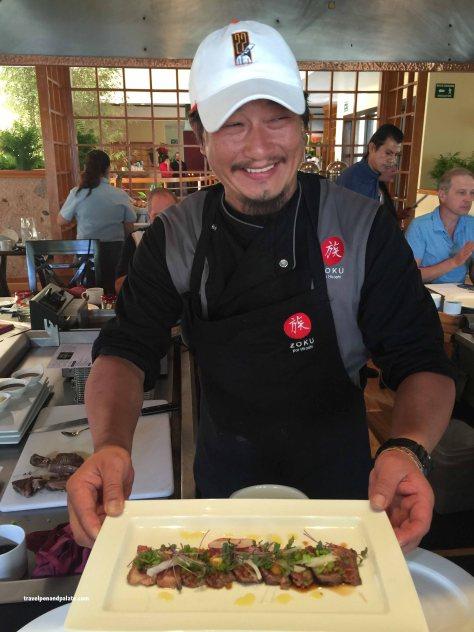 Chef Hiroshi Kawahito & Wagyu Tataki