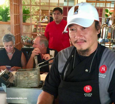 Chef Hiroshi Kawahito