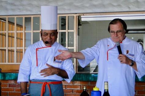 Chefs Luis Noriega & Heinz Reize owner of Coco Tropical