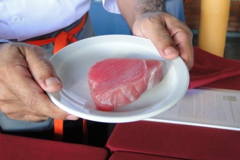 tuna steak from Mexico's northwest coast