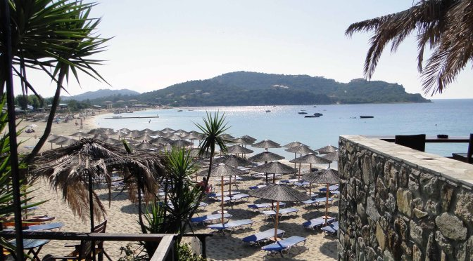 Escape to the Greek beach island  of Ammouliani